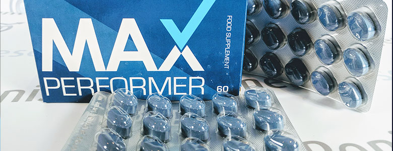 Max Performer Pills & Box